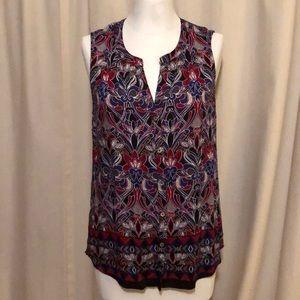 Women's sleeveless blouse NWOT